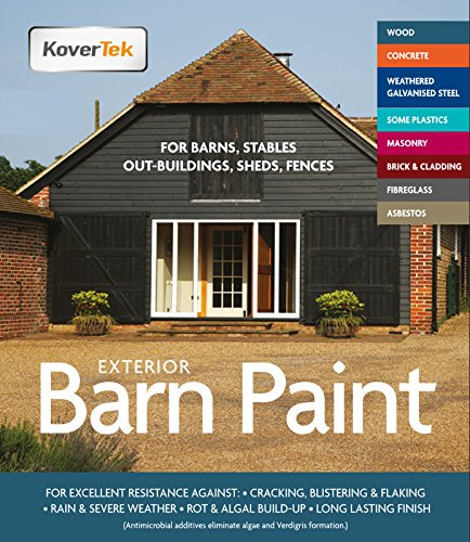 Exterior Paint & Primer in One, TekTor Barn Paint,...