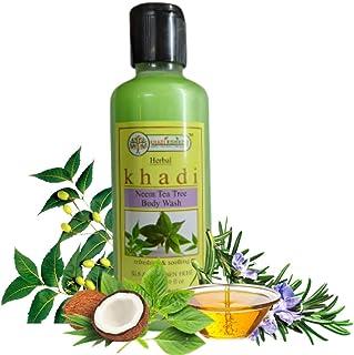 Khadi Rishikesh Herbal Neem Tea Tree Anti Acne Body Wash ,Relieve Skin Dryness ,Shower Gel For Skin Refreshing & Soothing...