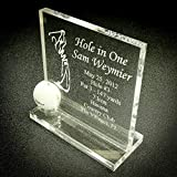 JK Display Products Trophy - Golf Hole in One Male or Female