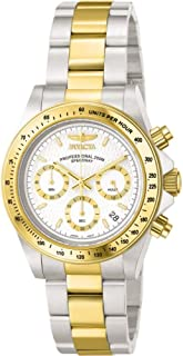 Invicta Men's Quartz Watch, Chronograph Display and Stainless Steel Strap 9212