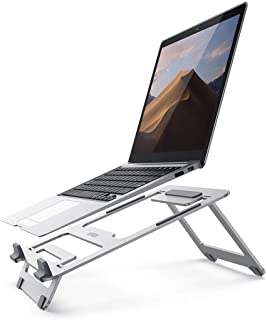 "UGREEN Desktop Laptop Stand Adjustable & Foldable laptop holder Multi-angle Ultra-light Compatible with 10""-16"" laptop"