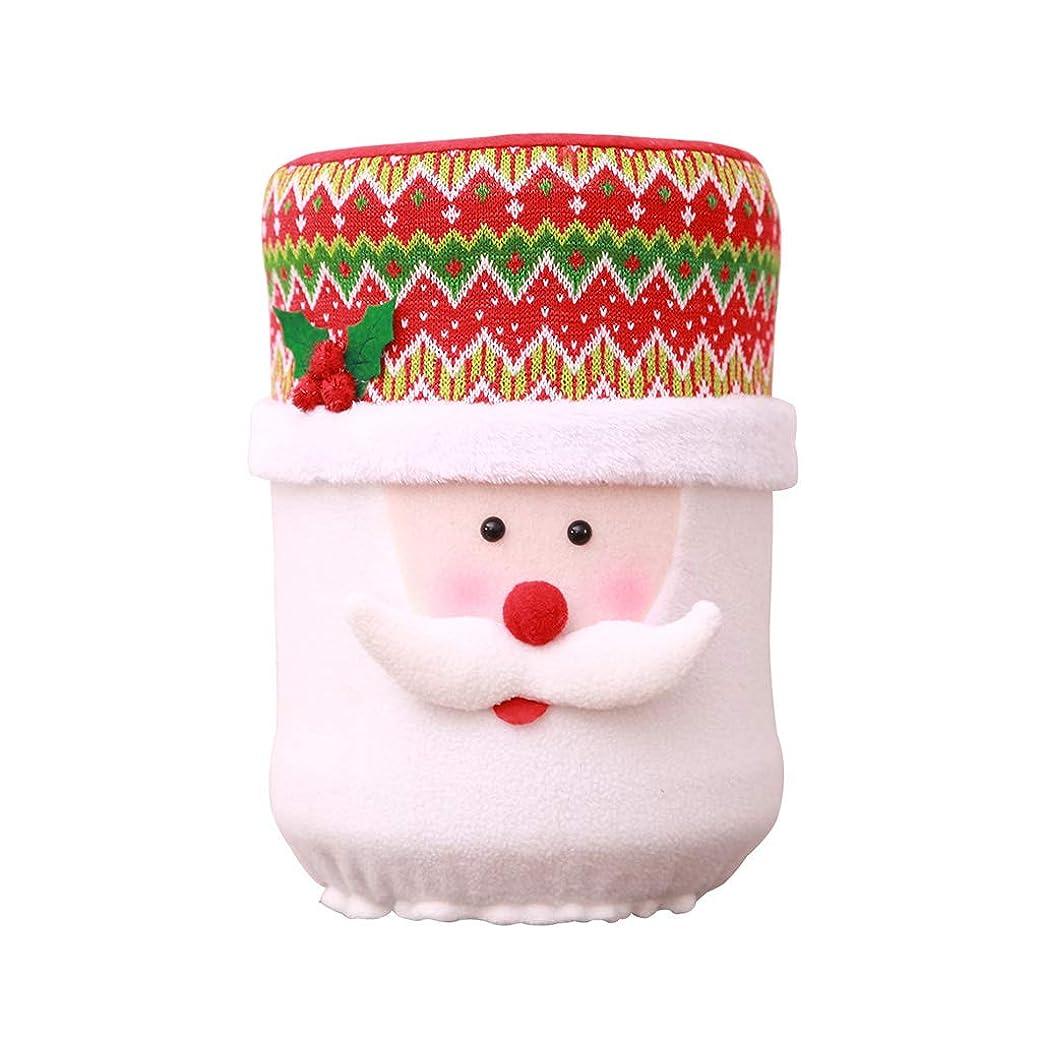 捕虜常に企業クリスマスコンテナーボトルダストカバー水ディスペンサーバケット清浄機クリスマス装飾老人A