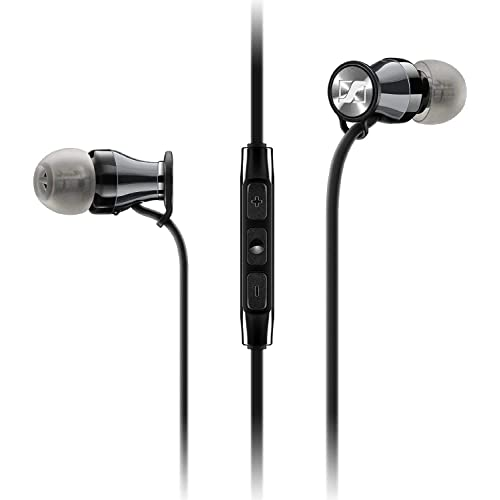 a73c58ec7f9 Sennheiser Momentum In-Ear Headphones (Black/Chrome) for Samsung Galaxy and  Android