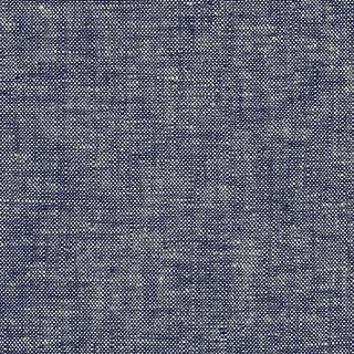 Robert Kaufman Kaufman Essex Yarn Dyed Linen Blend Denim Fabric by The Yard, Deepest Blue
