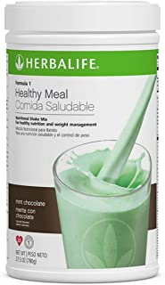 Herbalife Formula 1 Healthy Meal Nutritional Shake Mix (10 Flavor) (Mint Chocolate)