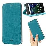 weier Motorola Moto G6 Case, Premium Flip Thin Case Wallet