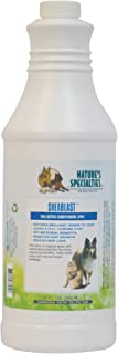 Nature's Specialties Dog Anti-Microbial Medicated Conditioner Spray for Pets, Leave-in, Made in USA, SheaBlast, 32oz