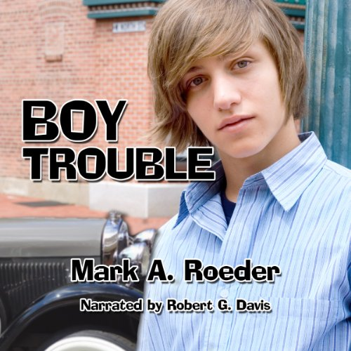 Boy Trouble audiobook cover art
