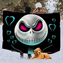Others Blanket 3D Jack from The Halloween Town Super Soft Fleece Blanket Warm Hooded Cloak for Adults and Children