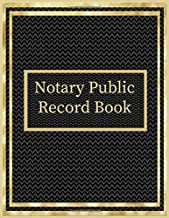 Notary Public Record Book: A Notary Book To Log Notorial Record Acts By A Public Notary