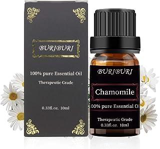BURIBURI Roman Chamomile Essential Oil 100% Pure & Natural For Aromatherapy, Therapeutic Grade 10 ML