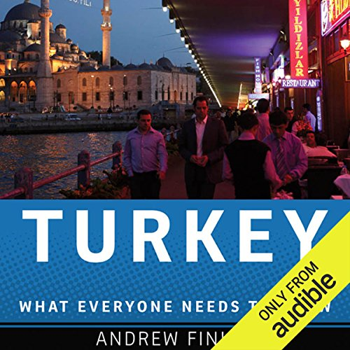 Turkey audiobook cover art