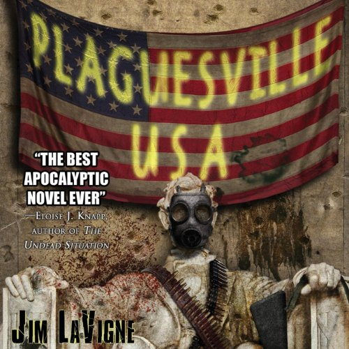 Plaguesville, USA audiobook cover art