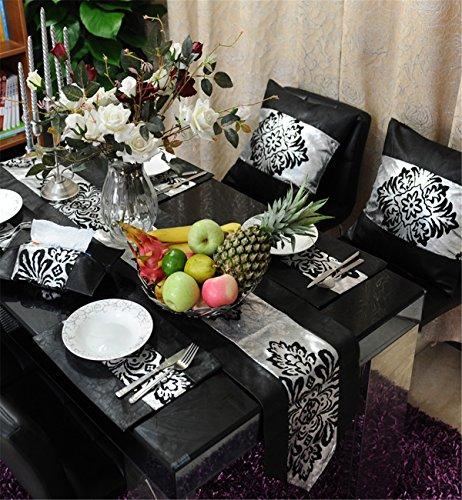 Sucastle® 30X200cm tissu Chemin de Table Cuisine Imperméable Décoration en Aspect naturel