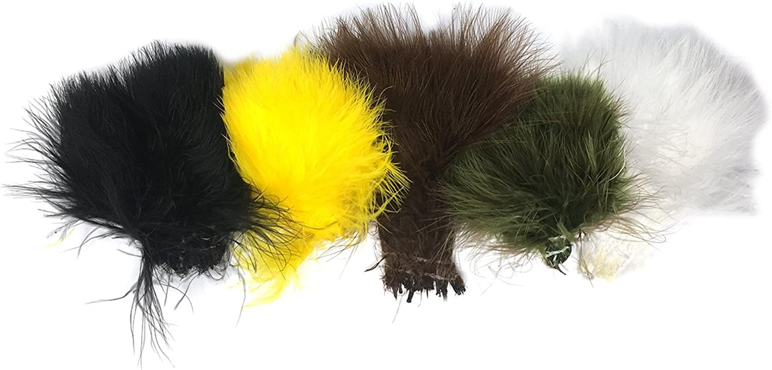 (Standcolors)  Marabou for Fly Tying Tying Flies