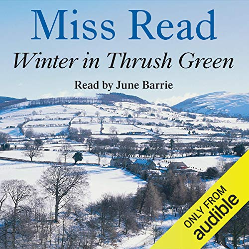 Winter in Thrush Green audiobook cover art