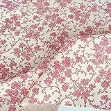 TOLKO Baumwollstoff aus Oeko-Tex Baumwolle | Bunte Blumen