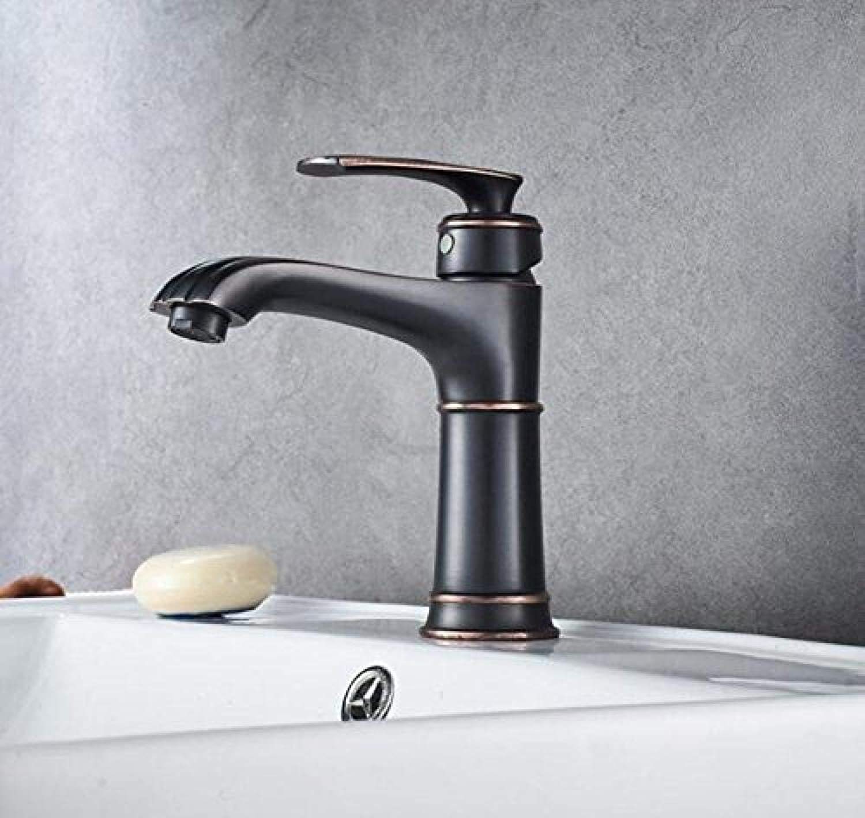 Becken Wasserhahn Schwarz Kupfer Bad Wasserhahn Mischer Kalten Kühlkrper Waschbecken Mischbatterie Kran