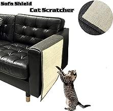 IETANG Pet Cat Scratching Pad Mat Sofa Shield Cover Protector to Prevent Furniture Scratch Multi-colored