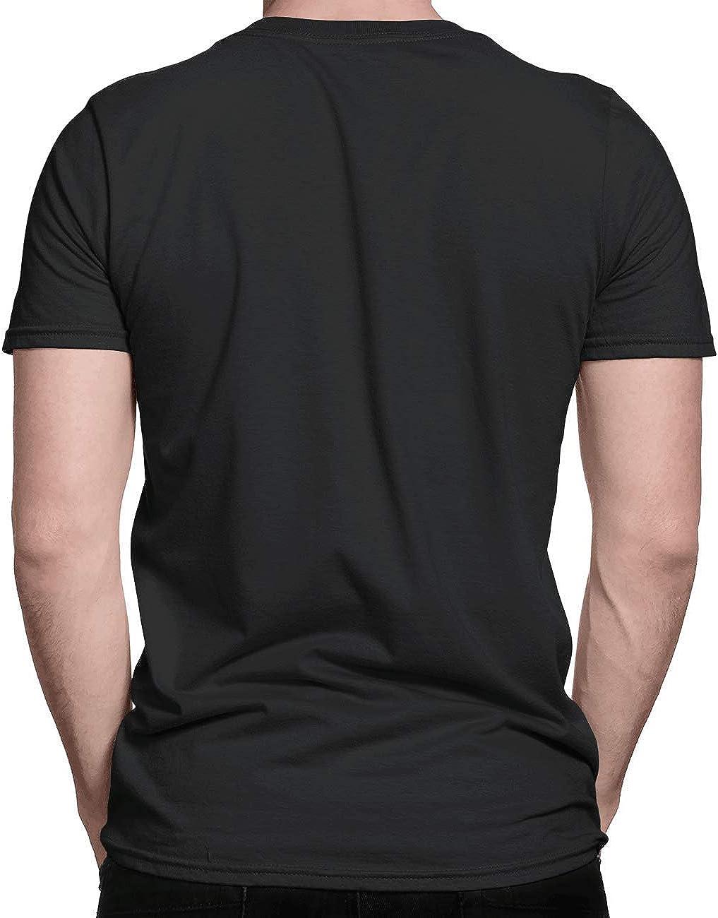 Camisetas para hombre con cuello redondo, manga corta, de ...