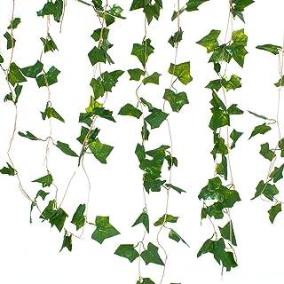 5 Dal Sarmaşık Yaprak Yapay Bitki - Üçgen