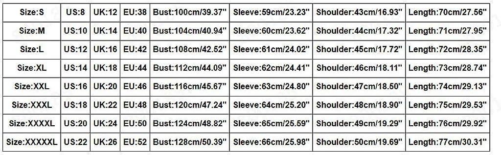 ESAILQ Kleider Frauen-Vlies-unregelmäßiger mit Kapuze Mantel Plus Größen-Lange Hülsen-Knopf-Taschen-Outwear B-khaki