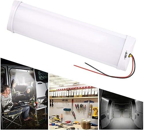 Semine Plafonnier de Toit de lumières intérieures de 12V LED pour Le Camping-Car Van de Caravane de remorque de Campi...
