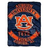 Auburn Tigers 'Rebel' Raschel Throw Blanket, 60' x 80'