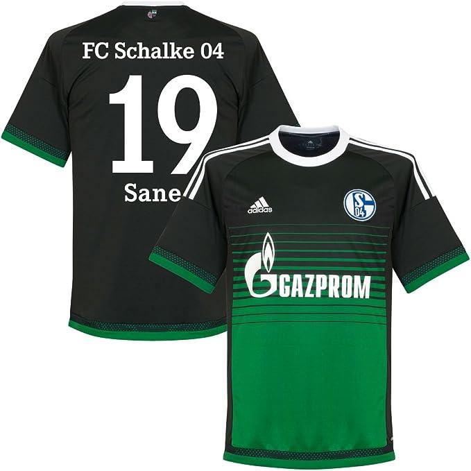 adidas Schalke 04 – Terza Maglia 2015 2016 sané 19 (Fan Style ...