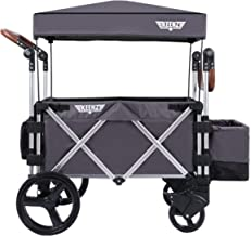 Keenz Stroller Wagon – 7S Pull/Push Wagon Stroller – Safe and Secure Baby Wagon Stroller and Stroller for Big Kids – Versatile Wagon Stroller Ideal for Special Needs, Grey