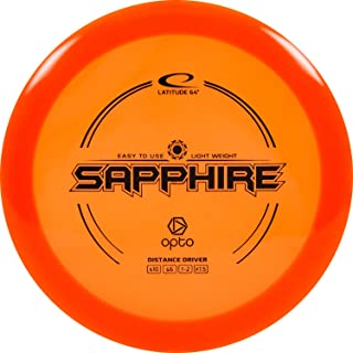 D·D DYNAMIC DISCS Latitude 64 Opto Sapphire Beginner Friendly Disc Golf Driver | Easy to Throw Control Distance Driver Fri...