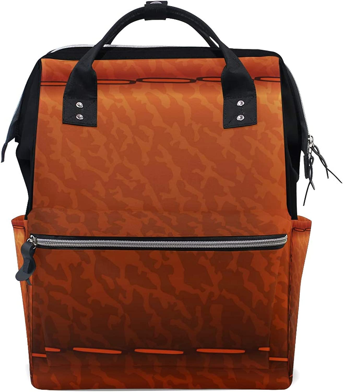 f19c5ad8b8e5 Leather Cushion PaintingTravel Backpack Canvas Handbag School Pack ...