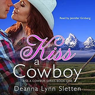 Kiss a Cowboy audiobook cover art