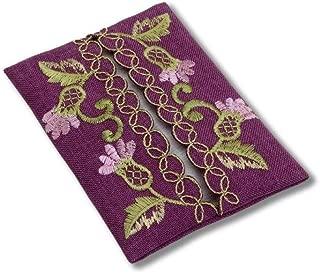 Pocket Tissue Holder in a Glencoe Thistle Design.