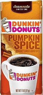 Best dunkin' donuts ground pumpkin spice coffee Reviews