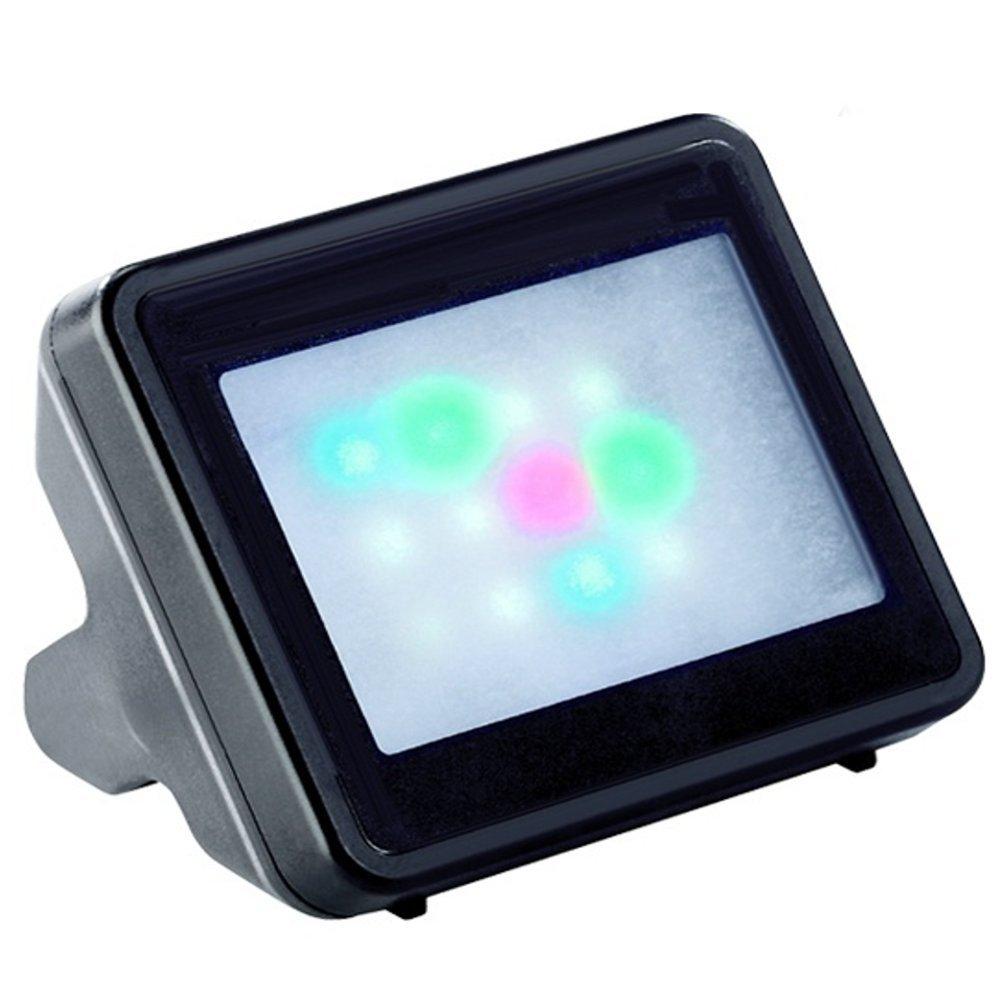 Maclean TVSYM01 - Simulador Imitador de televisor para protección antirrobo 12 Leds con Sensor de Oscuridad: Amazon.es: Bricolaje y herramientas