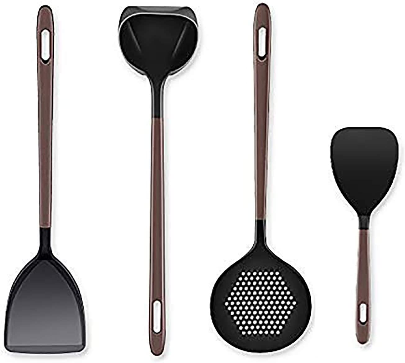 Liflicon Silicone Kitchen Utensil Tool Set- Cooking All New item stores are sold Set-Premium