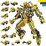 LUKAT Roboter Bausteine Spielzeug für Jungen 6 7 8 9 10 Jahre Gebäude Konstruktionsspielzeug 25-in-1 STEM Baukasten Pädagogisches Geschenk für Kinder