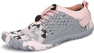 Oberm WomensMensWaterShoesQuickDrying Slip-onBeachRunningShoesLightweight Aqua WaterSneakers