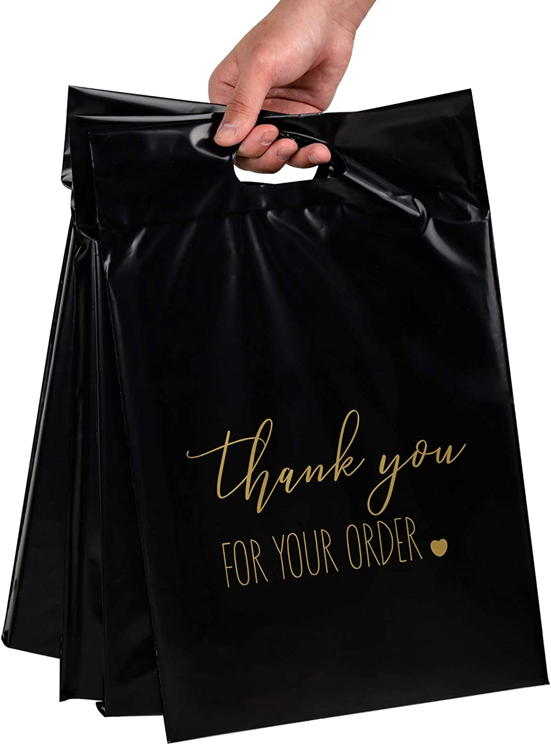 RUSPEPA Poly Mailers Shipping Bags Max 54% OFF with Thank you Elegant Busines Handle