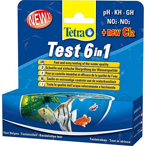 Tetra 6in 1Wasser Qualität Test Kit 270g–Bulk Deal von 6x