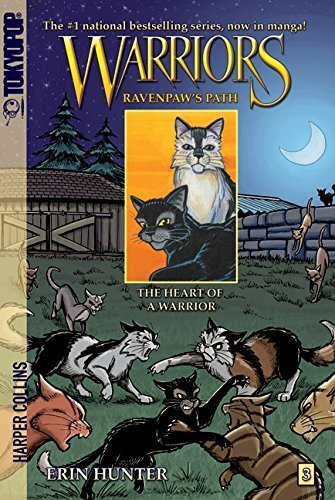 Warriors: Ravenpaw's Path #3: The Heart of a Warrior (Warriors Manga - Ravenpaw's Path) (English Edition)