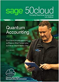 Sage Software 50cloud Quantum Accounting 2020 U.S. 5-User One Year Subscription