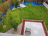 RockinColour Dekosteine für den Garten, Azurblau - 4
