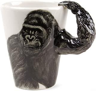 Gorilla Gift, Coffee Mug Handmade by Blue Witch