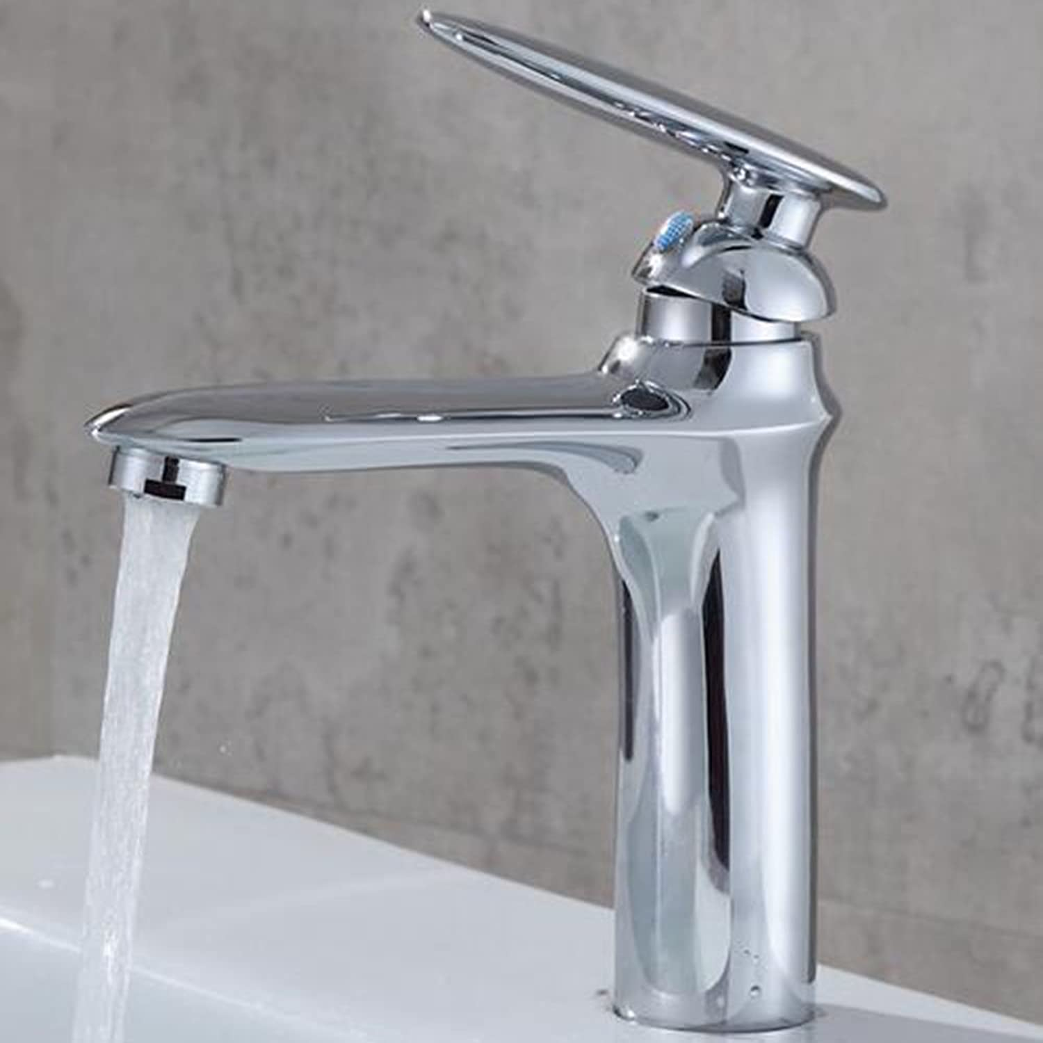 Hot & Cold Basin Faucet Single Hole Wash Basin