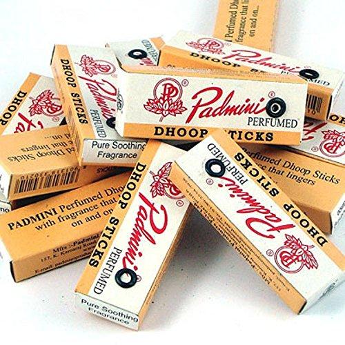 Varillas de inciensoperfumado Padmini,tamaño pequeño,10 unidades x 12paquetes