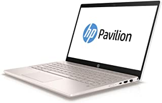 HP Pavilion 14-ce0008ne Laptop, Intel Core i7-8550U, 14-Inch FHD, 1TB, 16GB, 2GB VGA-Nvidia MX150,  Eng-Arb-KB, Windows 10, Gold