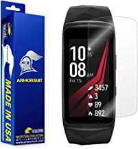 ArmorSuit Samsung Gear Fit 2 Pro Screen Protector (2 Pack) Full Coverage MilitaryShield Screen Protector for Gear Fit 2 Pro -HD Clear Anti-Bubble