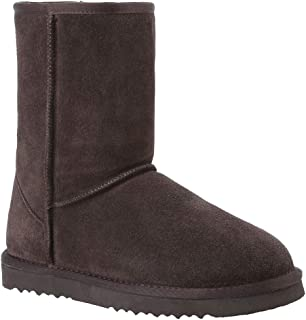 Waterproof- Genuine- Leather- Winter-Warm Women Snow Boots Shoes